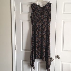 Sleeveless multicolored dress Size L